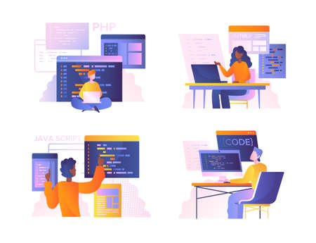Set of diverse programmers or coders