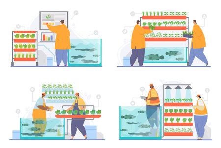 Hydroponics, aeroponics, aquaponics