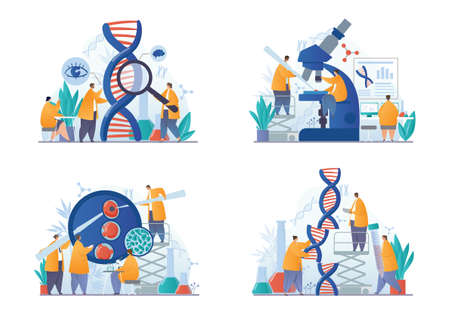 DNA and genetic scientific research concepts