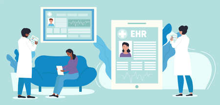 electronic health record concept