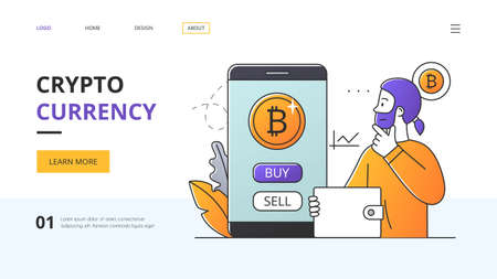 Crypto Currency investment website design and information centre
