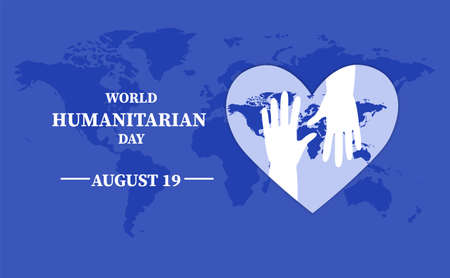 Poster of World humanitarian day