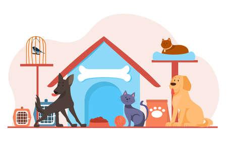 Pet shop poster concept