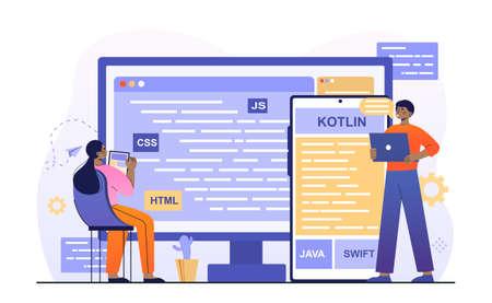 Cross platform coding Concept