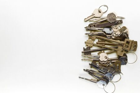 vermeil: a lot of different keys on a yellow background