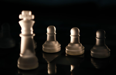 pawns: king and pawns