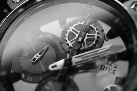 timeless: detail of watch