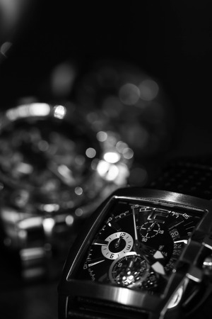 monochrome of watch