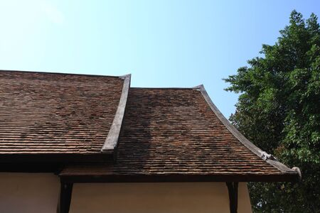 ancient roof  photo