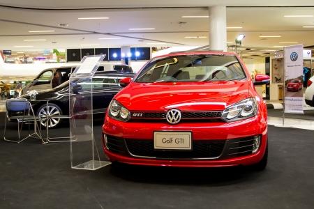 gti: Lampang Motor Show-2 May 2013 ,showing Volkswagen Golf GTI
