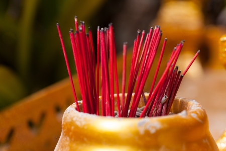 wood burner: incense burner