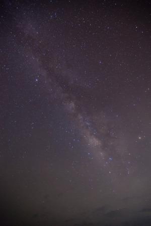 The Milky Way  Long exposure photograph Stock Photo - 28905537