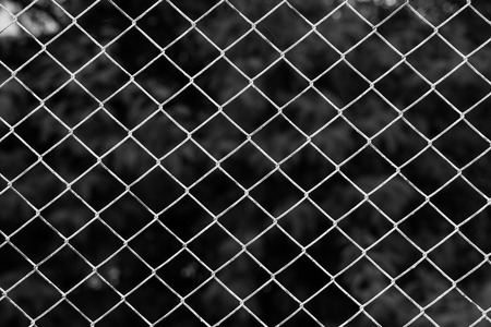 chain link: Iron chain fence  background.