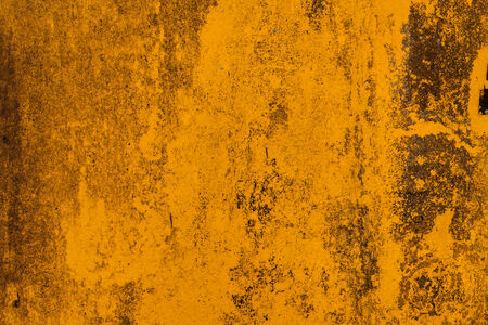 rusty background: Yellow abstract rusty background. Stock Photo