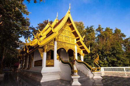 sean: Phra Tha Jom Kitti tempio nella parte occidentale del centro storico di Chiang Sean, Chiang Rai. Archivio Fotografico