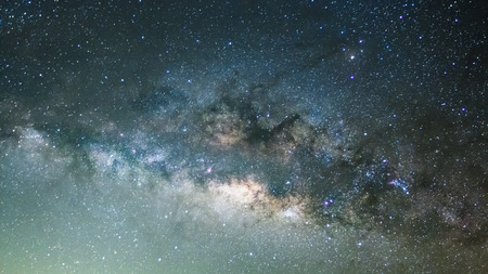 vulpecula: The Panorama Milky Way ,Long exposure photograph.