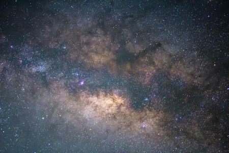 vulpecula: The Milky Way ,Long exposure photograph.