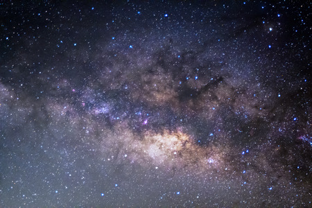 vulpecula: The Panorama Milky Way Long exposure photograph.