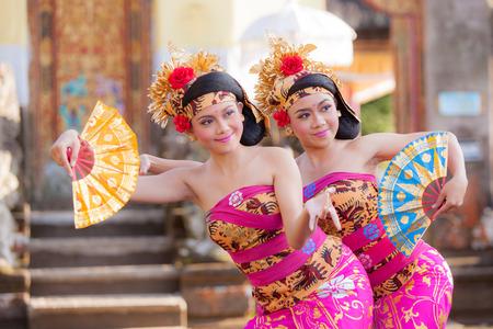 indonesia girl: BALI - June 27 : girl performing traditional Indonesian dance at Ubud  Bali theater on June 27 2015 in Bali, Indonesia. Editorial