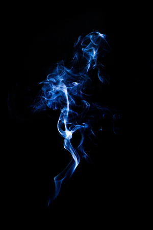 blue smoke: abstract photo of blue Smoke.