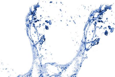 water splash: Water splash background. Stock Photo