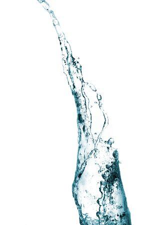 artistry: Water splash background. Stock Photo