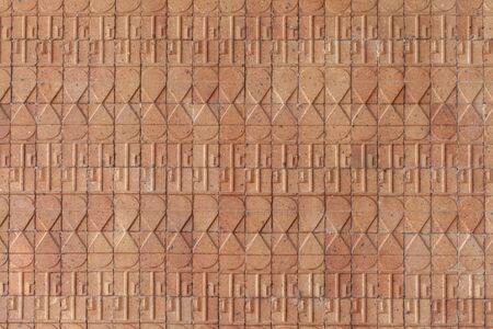 ceramic tiles: Ceramic tiles. Beige mosaic ceramic tiles.