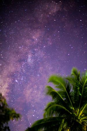 vulpecula: The Milky Way ,Long exposure photograph.