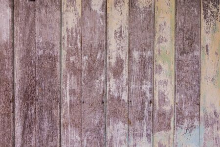 weathered wood: Vintage Old shabby wooden painted with cracked color Background.