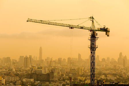 site: Construction site. Stock Photo