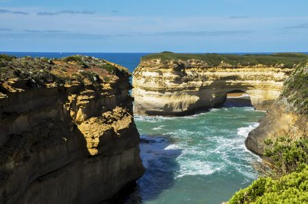 rd: daylight view at coast of Twelve Apostles by Great Ocean Rd, Australia