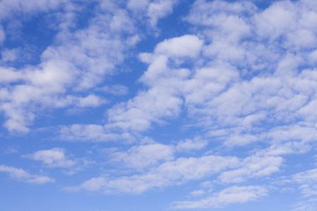 bluesky: bluesky clouds background. Stock Photo