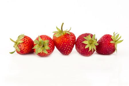 Fresh strawberries close-up.