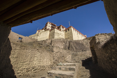 Stok Palace or Stok Gompa is a Buddhist monastery in Stok, Leh district, Ladakh, northern India, 15 kilometres south of Leh.