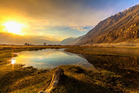 Sunrise at Nubra Valley, Leh Ladakh,Jammu and Kashmir, India