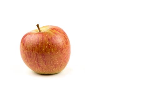 Red apple on a white background Reklamní fotografie