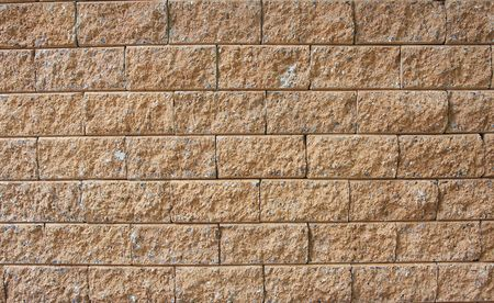 Vertical red brick wall background photo