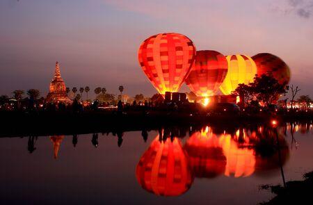 航空ショー: 国際バルーンフェスティバルの作品 写真素材