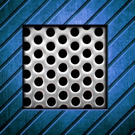 metal template background Stock Photo - 8146285