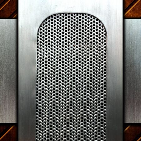 metal template background Stock Photo - 8146294