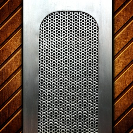 metal template background Stock Photo - 8146289