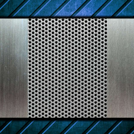 metal template background Stock Photo - 8146302