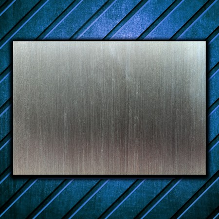 metal template background Stock Photo - 8146305