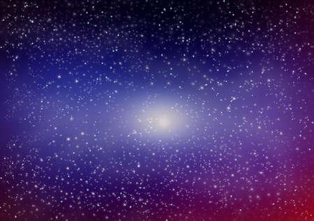 Star on the dark Stock Photo - 8317077
