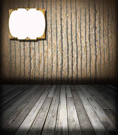 Empty Grunge Room Interior Stock Photo - 8317097