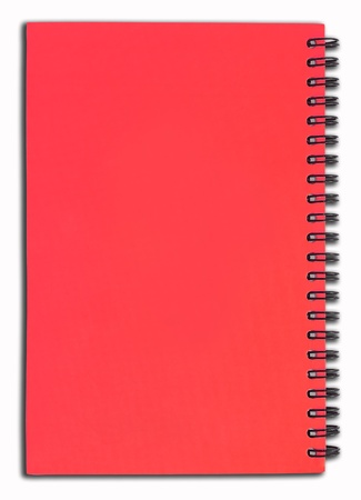 Red notebook Stock Photo - 8317185