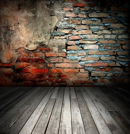 brick: alte Zimmer mit Mauer