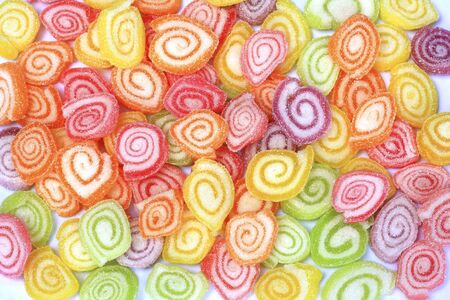 tots: Background with colorful candy