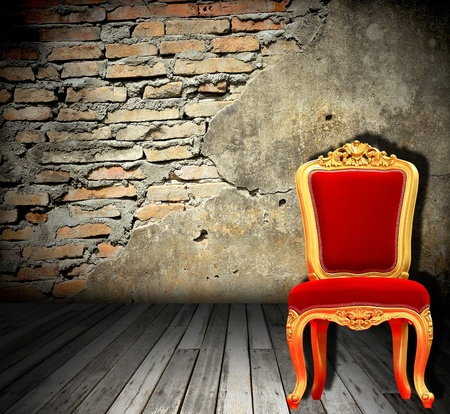 Real photo of classic armchair Stock Photo - 8498766