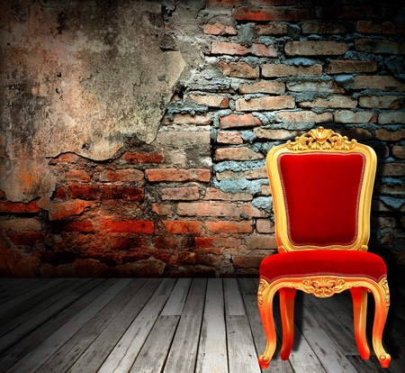 Real photo of classic armchair Stock Photo - 8498768